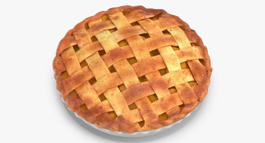 Яблочный пирог royalty-free 3d model - Preview no. 9