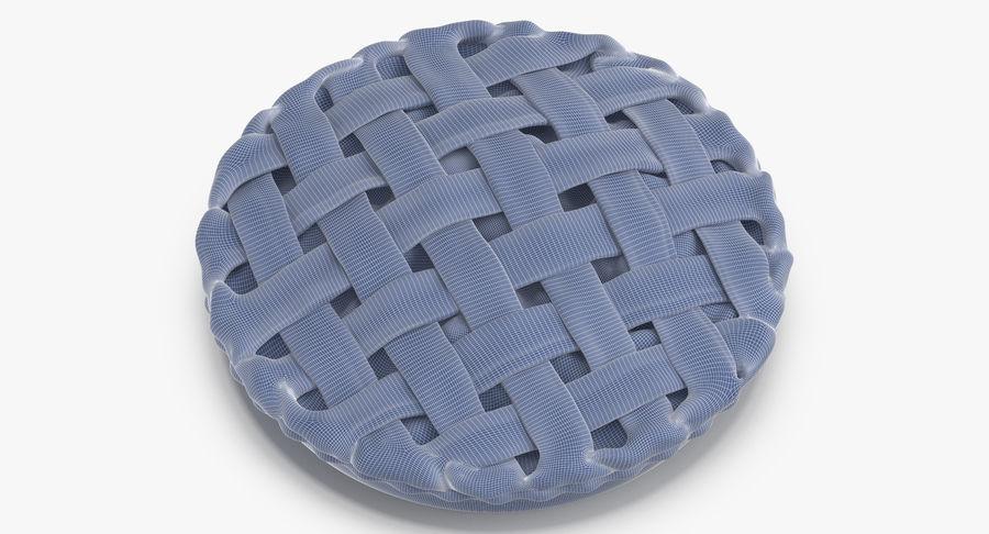 Яблочный пирог royalty-free 3d model - Preview no. 18