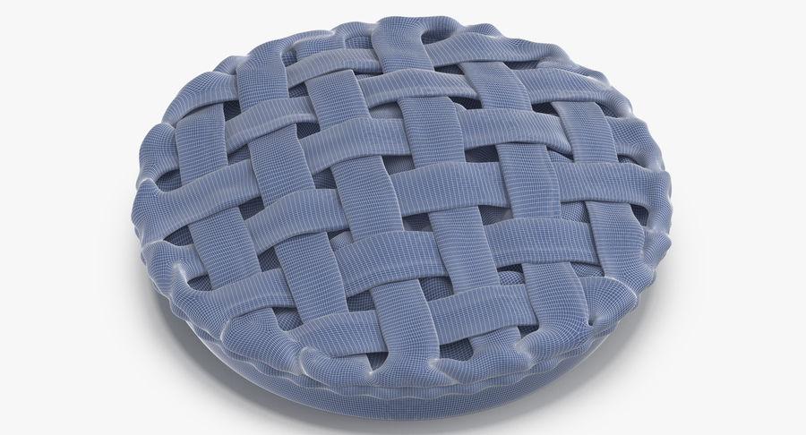 Яблочный пирог royalty-free 3d model - Preview no. 19