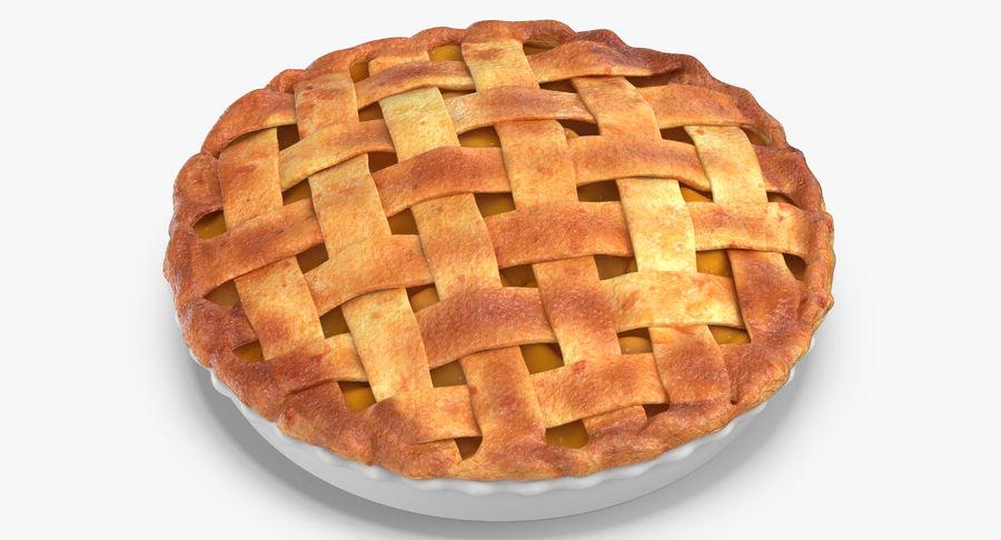 Яблочный пирог royalty-free 3d model - Preview no. 10