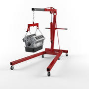 Engine Hoists 1 3d model
