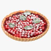 蔓越莓T 3d model