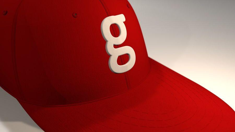 棒球帽 royalty-free 3d model - Preview no. 6