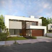 Modern House I 3d model