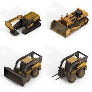 Construction Vehicles Pack 3d model