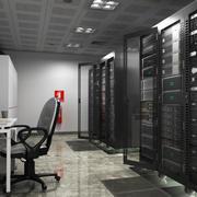 Server ruimte 3d model