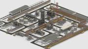Factory Kitbash 04 3d model