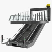Ingångs tunnelbanestation 3d model