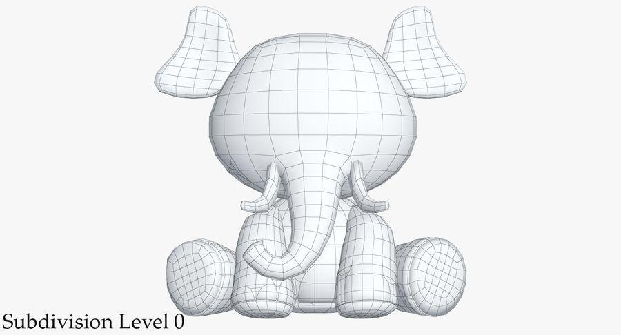 Collezione di giocattoli animali 3 royalty-free 3d model - Preview no. 33