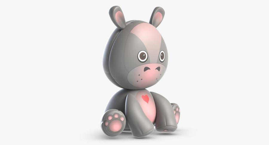 Collezione di giocattoli animali 3 royalty-free 3d model - Preview no. 27