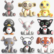 Animal Toys Collection 3 3d model