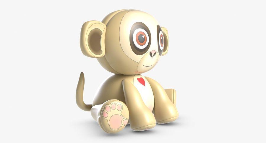 Collezione di giocattoli animali 3 royalty-free 3d model - Preview no. 21