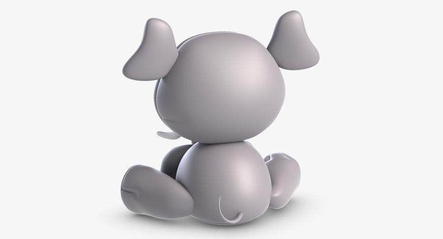 Collezione di giocattoli animali 3 royalty-free 3d model - Preview no. 10