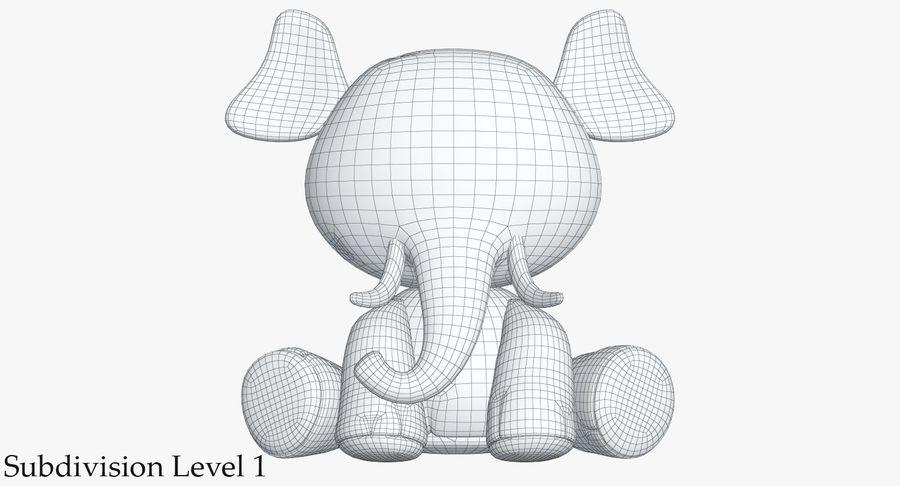 Collezione di giocattoli animali 3 royalty-free 3d model - Preview no. 34