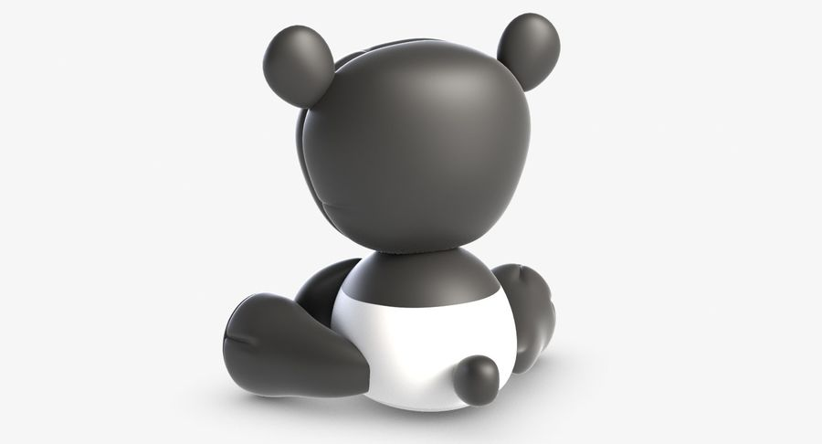 Collezione di giocattoli animali 3 royalty-free 3d model - Preview no. 4