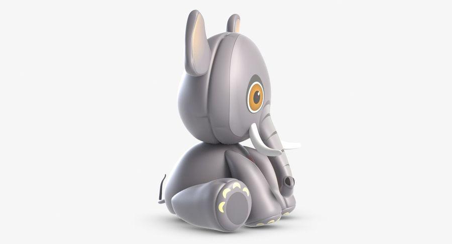 Collezione di giocattoli animali 3 royalty-free 3d model - Preview no. 9