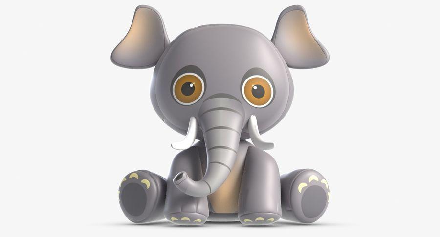 Collezione di giocattoli animali 3 royalty-free 3d model - Preview no. 8