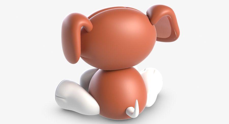 Collezione di giocattoli animali 3 royalty-free 3d model - Preview no. 7