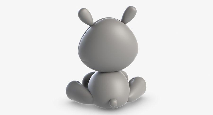 Collezione di giocattoli animali 3 royalty-free 3d model - Preview no. 28