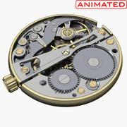 Assista Mecanismo Animado 3d model