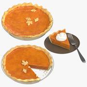 Pumpkin Pie Collection 3d model