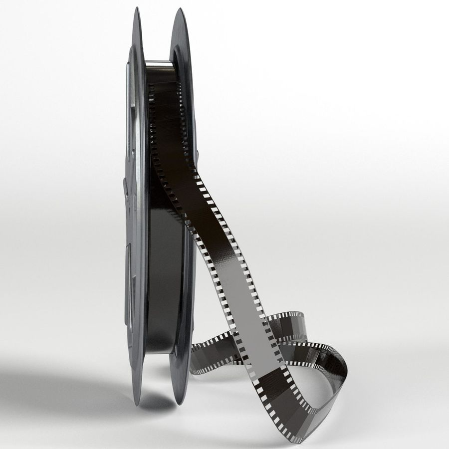 Film Reel royalty-free 3d model - Preview no. 3
