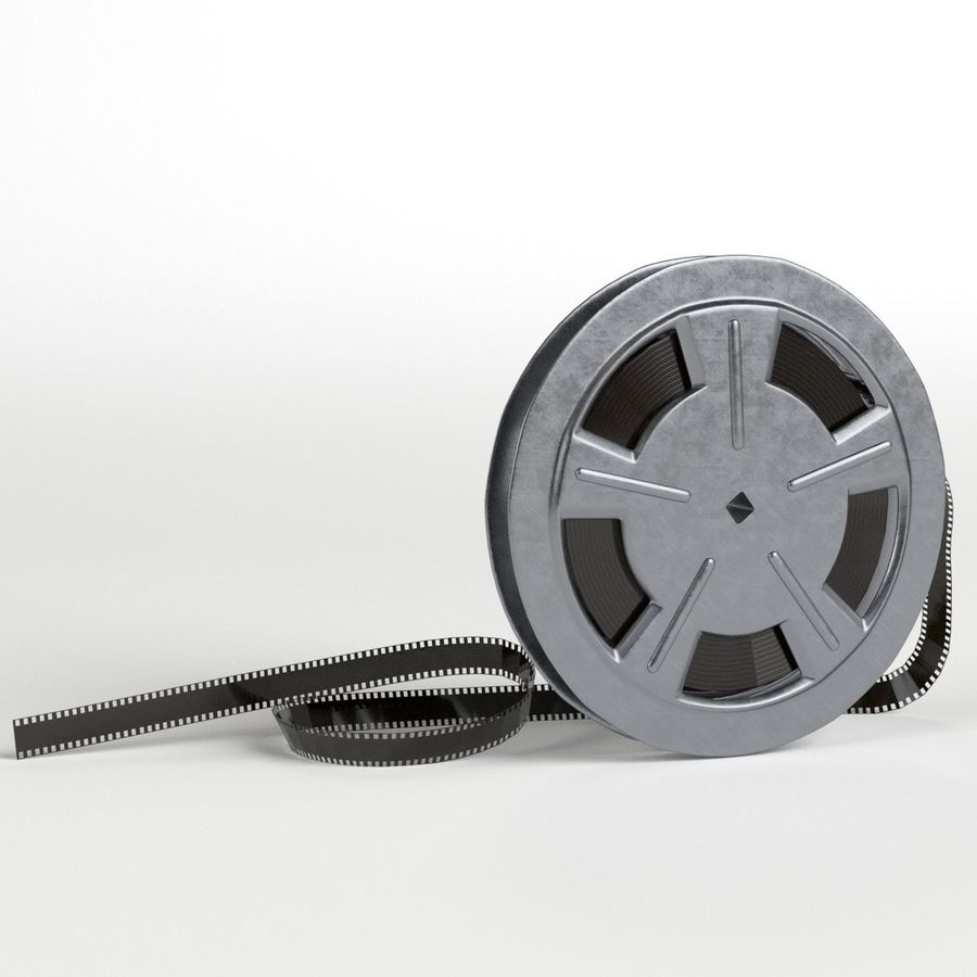 Film Reel royalty-free 3d model - Preview no. 1