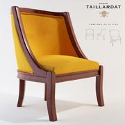 扶手椅伊莎贝拉 3d model