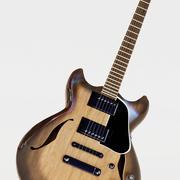 엘 기타 3d model