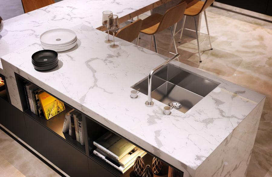 Cocina moderna royalty-free modelo 3d - Preview no. 7