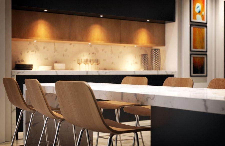 Cocina moderna royalty-free modelo 3d - Preview no. 9