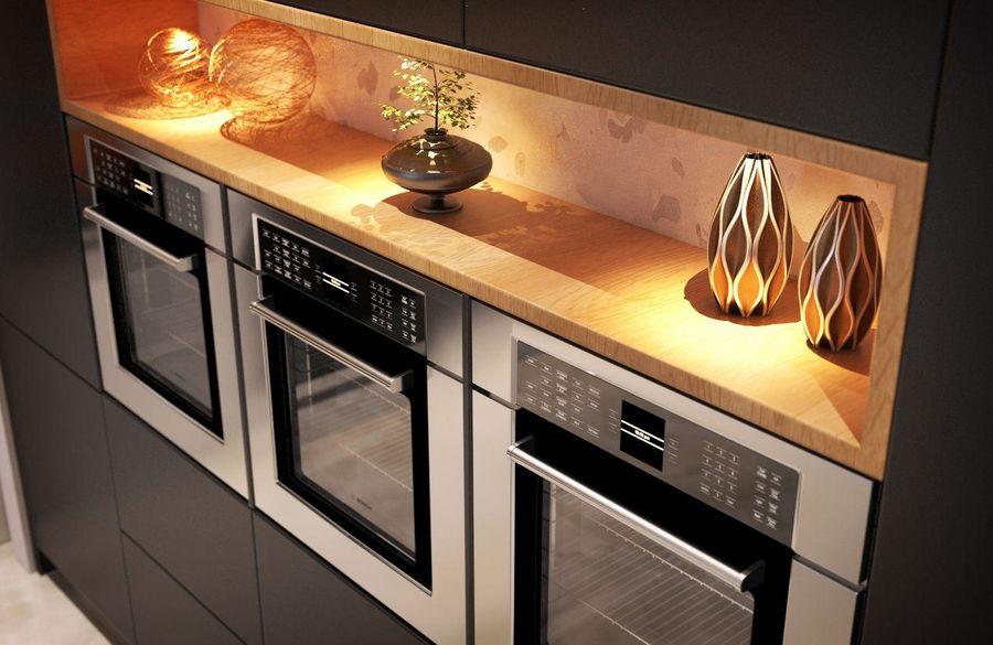 Cocina moderna royalty-free modelo 3d - Preview no. 10