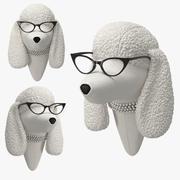 Soft Poodle - Doris 3d model