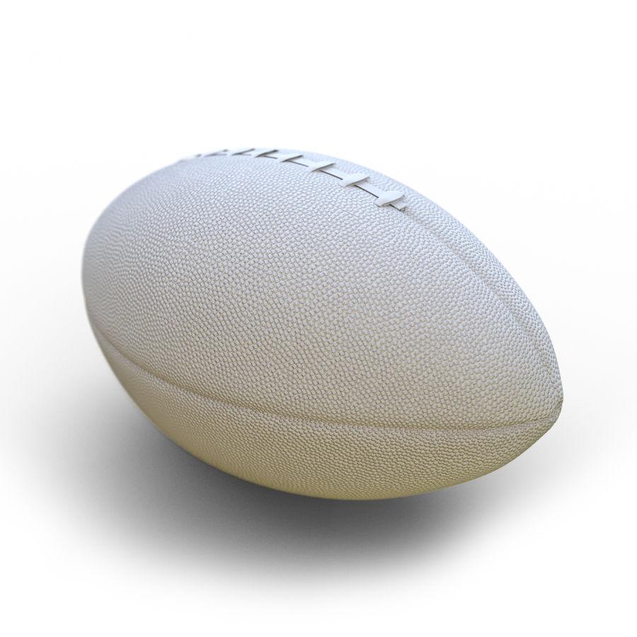 Американский футбол (мяч) royalty-free 3d model - Preview no. 8