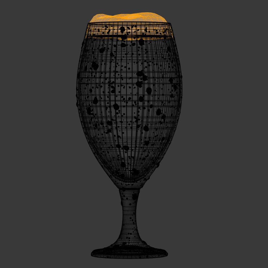 ビールグラス royalty-free 3d model - Preview no. 4
