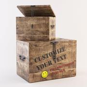 상자 사용자 정의 3d model