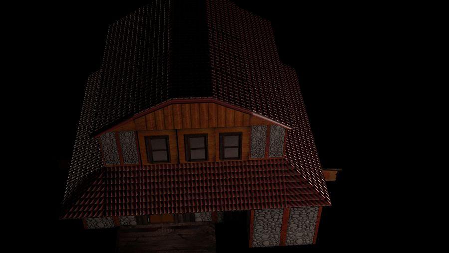 Fantasy Tavern royalty-free 3d model - Preview no. 6