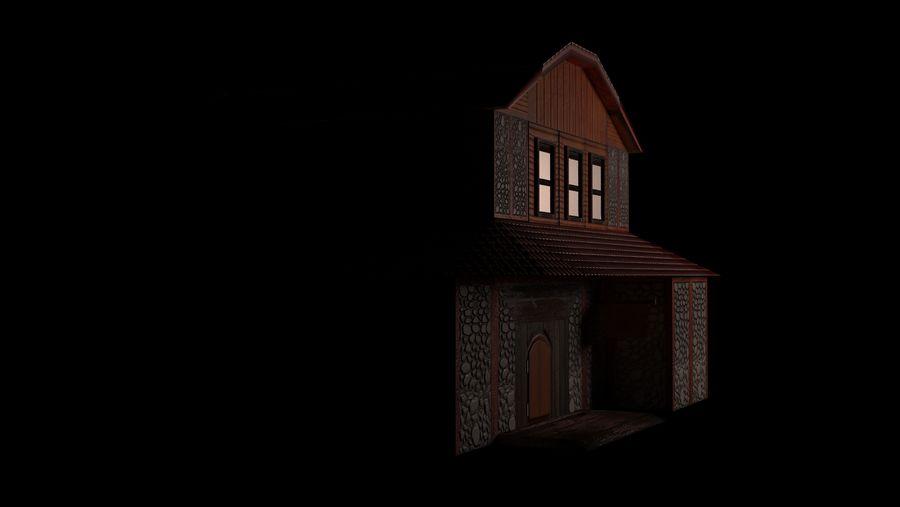 Fantasy Tavern royalty-free 3d model - Preview no. 4