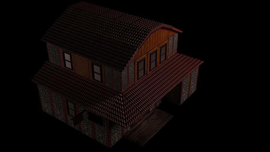Fantasy Tavern royalty-free 3d model - Preview no. 7