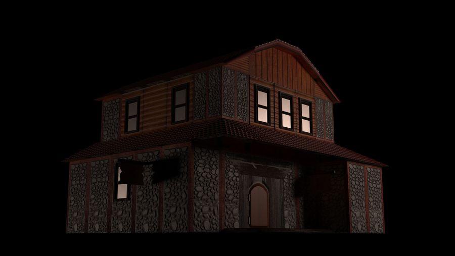 Fantasy Tavern royalty-free 3d model - Preview no. 5