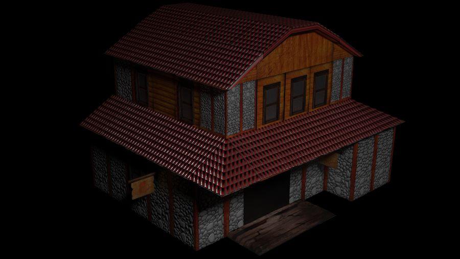 Fantasy Tavern royalty-free 3d model - Preview no. 1