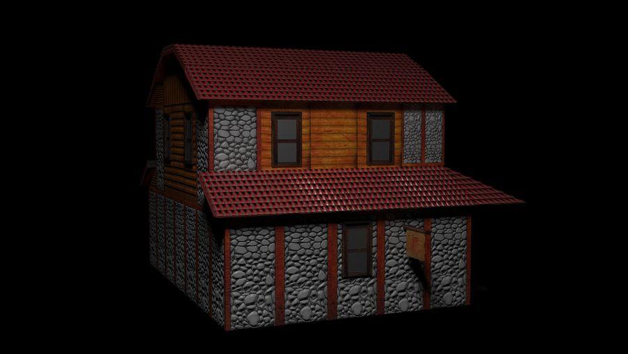 Fantasy Tavern royalty-free 3d model - Preview no. 3