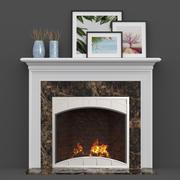 "Wood Fireplace Mantels ""Heatilator"" 3d model"