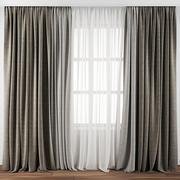 Curtain 106 3d model