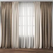 Curtain 107 3d model