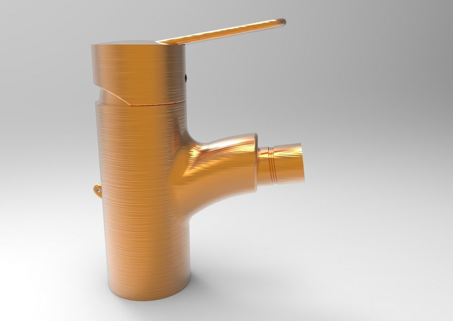 FAUCET TAP royalty-free 3d model - Preview no. 13