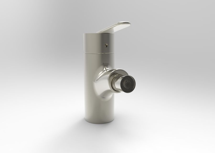 FAUCET TAP royalty-free 3d model - Preview no. 2