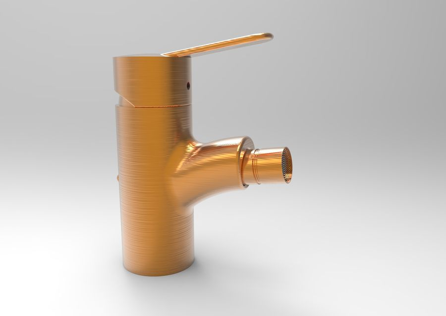 FAUCET TAP royalty-free 3d model - Preview no. 12