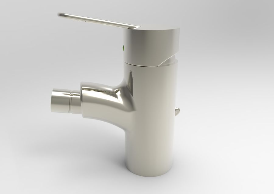 FAUCET TAP royalty-free 3d model - Preview no. 8