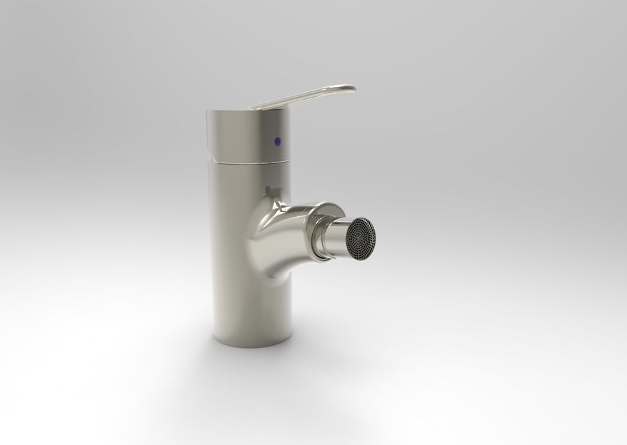 FAUCET TAP royalty-free 3d model - Preview no. 3